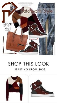 """""""Patchwork Style"""" by vanjazivadinovic ❤ liked on Polyvore featuring Calvin Klein Collection, SWEAR, patchwork, polyvoreeditorial and Poyvore"""