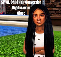 Sims 4 CC's - The Best: Hair Conversions for Girls by Sheplayswithlifeee The Sims, Sims 4 Teen, Sims Four, Sims Cc, Sims Baby, Sims 4 Mods, Sims 4 Game Mods, Sims Games, Sims 4 Toddler Clothes
