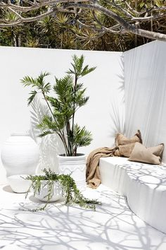 Uniqwa furniture collection's delightful range of large white outdoor pot's and . Outdoor Rooms, Outdoor Living, Outdoor Decor, Exterior Design, Interior And Exterior, Deck Lighting, Interior Decorating, New Homes, Backyard