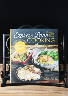 Express Lane Cooking cookbook from Shawn Syphus