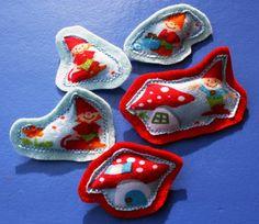 little gnomes brooch