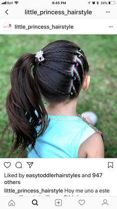 Kids Hairstyle Girls - February 15 2019 at Cute Girls Hairstyles, Princess Hairstyles, Trendy Hairstyles, Braided Hairstyles, Kids Hairstyle, Hair Game, Toddler Hair, Braids For Long Hair, Hair Today