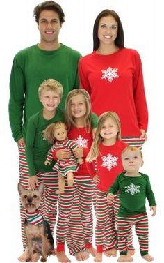 Matching Family Holiday Pajamas 2016 | Christmas Family Matching ...