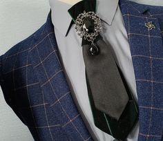 a2414dbf6018 Wedding Black Crystal Rhinestone Velvet Or Ribbon Men Pre Tied Bow Tie Neck  Tie #Unbranded