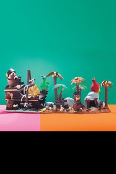 L'île au trésor, Lenôtre, 990 euros (7 kilos), sur commande   Chaque année, Lenôtre présente une pièce d'exception qui démontre les talents de la maison. Voici donc celle de 2015: 7 kilos de chocolat (noir, lait et blanc), travaillés en une joyeuse île au trésor.    En savoir plus sur http://www.lexpress.fr/styles/diapo-photo/styles/saveurs/paques-2015-notre-selection-d-oeufs-poules-lapins-et-autres-animaux-en-chocolat_1662541.html?p=40#efDlmzh8aocCpWFP.99