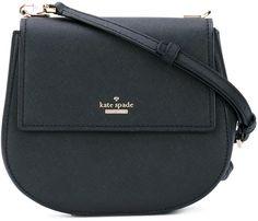 Kate Spade - flap shoulder bag - women - Calf Leather/Polyester/Polyurethane - One Size