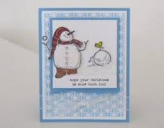 Image result for It's Snow Time stampinup