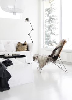 ★ Cocooning… | Urban home | home | minimalist decor | home decor | decor | livingroom | room | spaces | Scandinavian | interior design | Schomp MINI