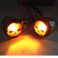 Motorcycle Bullet Turn Signal lights Indicator For Harley Sportster Street Glide
