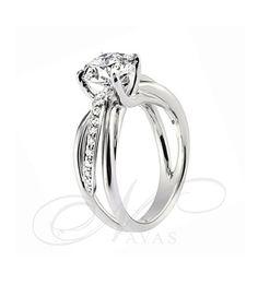 El solitario PENHALTA 5 es un ajoya elaborada con oro de primera Ley y diamantes de máxima calidad, junto  aun beñño diseño creado por la marca de moda nupcial Penhalta. Se trata de un anillo que combina la elegancia del solitario tradicional con un diseño actual y exclusivo, por este motivo, es el regalo perfecto para un ocasión especial, incluso, una pedida de mano inolvidable.  https://navasjoyeros.com/penhalta-5-solitario-diamantes.html