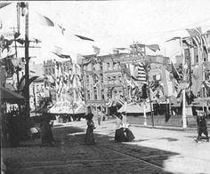 Colden Street, Newburgh, NY, during the Hudson-Fulton Celebration :: Newburgh Free Library