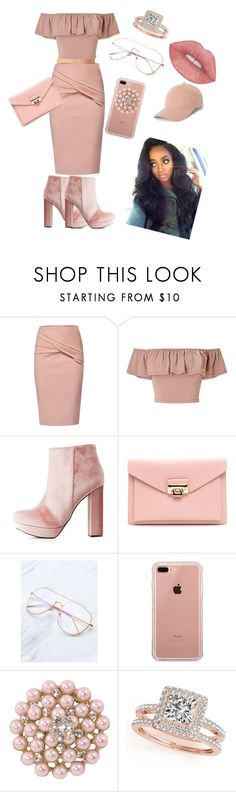 """!!HEY IT IS PEACH!!"" by swag345 ❤ liked on Polyvore featuring WtR, Miss Selfridge, Charlotte Russe, Belkin and Allurez"