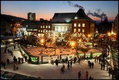 #zlín #náměstí míru #city lights