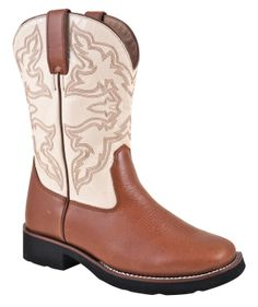 Womens Riders Wide Square Toe Boots | valleyvet.com