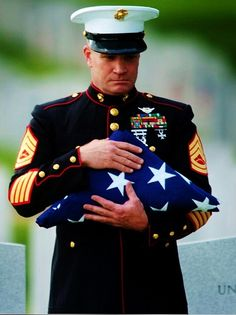 "''Please accept this on behalf of a grateful nation.""  Honor & Sacrifice❤Freedom"