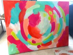ORIGINAL Abstract Painting 36 x 48 by MollieCrosby on Etsy
