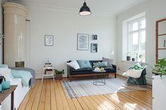 Agencement studio vintage et bleu ;)