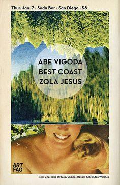 Abe Vigoda, Best Coast, Zola Jesus