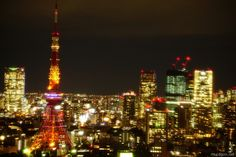 東京都港区浜松町の世界貿易センタービル40階にある展望台から夜景を眺めました。       ...