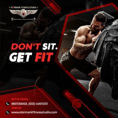 Gym Advertising, Multi Gym, Certified Trainer, Kickboxing Workout, Best Gym, Logo Design, Graphic Design, Fitness Design, Fitness Studio