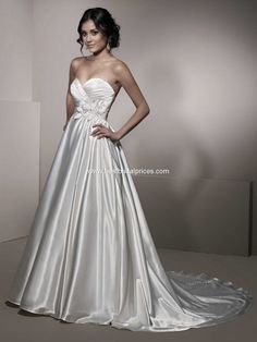 Ella Rosa, BE140 Satin Size 4 Wedding Dress For Sale | Still White Canada