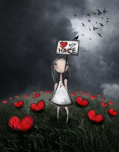 Préférer l'amour à la haine