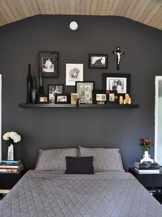 Suggestions for Painting a Bedroom Wall Black? | Apartment Therapy