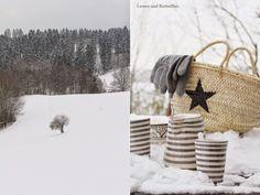 Leaves and Butterflies: Ein warmer Kakao im kalten Winter...