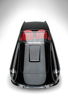 ★ Black car Ferrari 400 Super America