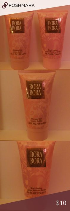Liz Claiborne Bora Bora Liz Claiborne Bora Bora   Body Lotion & Shower Gel   Opened only to smell otherwise never used.  Shower Gel seems like it's been used but never was came as is.   Happy Poshing 🎁 Liz Claiborne Accessories