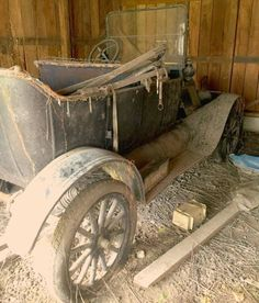 75 Year Dust Collection: 1916 Ford Model T - http://barnfinds.com/75-year-dust-collection-1916-ford-model-t/