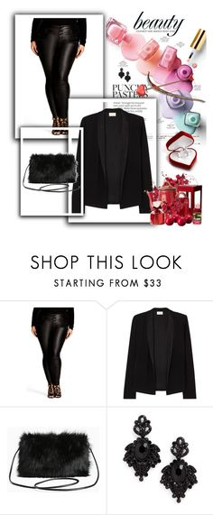 way to syle your jeans # 5 by studiostiletto on Polyvore featuring mode, American Vintage, City Chic, Torrid, Tasha and plus size clothing