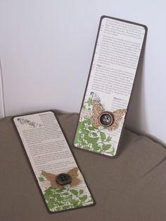 Titelaine, démonstratrice Stampin'Up! dans les Bouches du Rhône Bookmarks - Marcapáginas - Puntos de libro