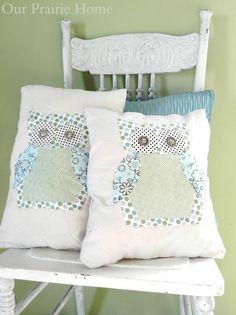 Our Prairie Home: Owl Pillow {Tutorial}