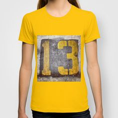 My Lucky Number T-shirt by ADH Graphic Design - $18.00