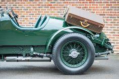 1931 Vintage Bentley with custom Luggage