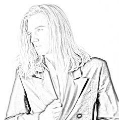 Urian - Love this series Sherrilyn Kenyon Books, Chronicles Of Nick, Dark Hunter, Art Sketches, The Darkest, Sexy Men, Eye Candy, Aurora Sleeping Beauty, Hunters