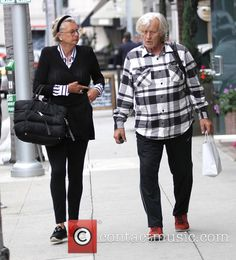 Rutger Hauer 2  Rutger Hauer and his wife go shopping in Beverly Hills - Los Angeles, California, United States - Monday 16th May 2016