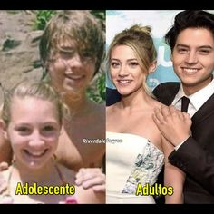 Is this photoshopped, or did they genuinely know each other before Riverdale? Seriously, if someone knows, please tell me - I think it's just a random girl cole knew, but I hopeeeee it's lili! Riverdale Aesthetic, Bughead Riverdale, Riverdale Funny, Riverdale Memes, Riverdale Movie, Cole M Sprouse, Cole Sprouse Jughead, Archie Comics, Betty Cooper