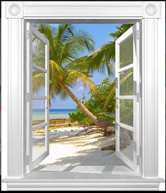 U can feel ur in paradise in ur own home... More mural ideas!!