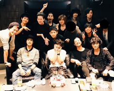 Takeru Sato & friends