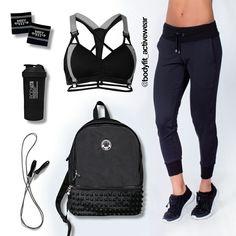 #BodyFit te trae una propuesta llena de tendencia para complementar tu guardarropa sin dejar de lado la comodidad para entrenar al mejor #EstiloBodyFit #FitInspiration  #FashionFitness #GymTime #Fitness #Modern