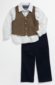 Sovereign Code Vest, Shirt & Pants Set (Toddler) available at #Nordstrom