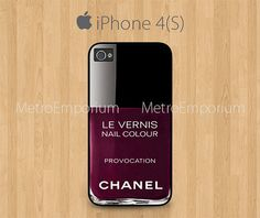 Chanel Nail Polish iPhone 4 iPhone 4S Case Le by MetroEmporium, $15.79