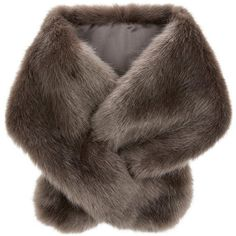 Accessorize  Serena Faux Fur Tippet Scarf ($38) ❤ liked on Polyvore featuring accessories, scarves, accessorize scarves, fake fur shawl, faux fur scarves, fake fur scarves and faux fur shawl