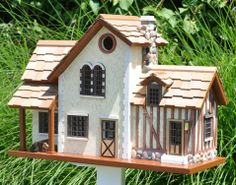 French Country Home Bird House | Outdoor Decor