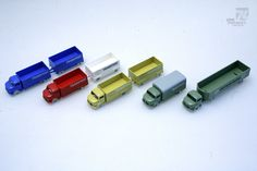 Vintage 1950-60s LEGO 1/87 H0 Mercedes LKW Trailer Transport Interfrigo 1:87 Tru…