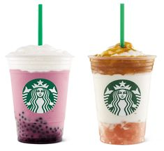Frappuccino Flavors, Cotton Candy Frappuccino, Starbucks Frappuccino, Frappe, Starbucks Secret Menu, Starbucks Recipes, Starbucks Drinks, Starbucks Coffee, Coffee Drinks