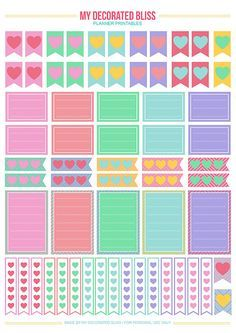 My Decorated Bliss: MAMBI: Create365 Happy Planner | Free Printable Stickers