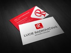 Visit card for lawyer